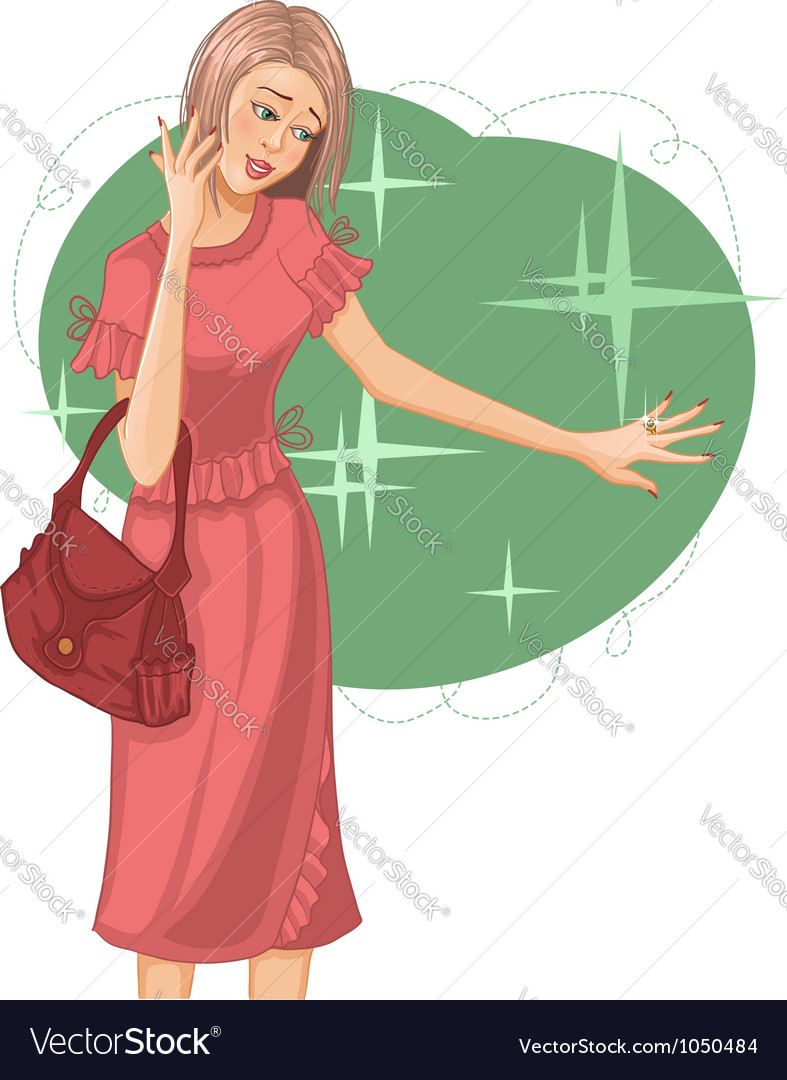 Woman fashion vector | Price: 3 Credit (USD $3)