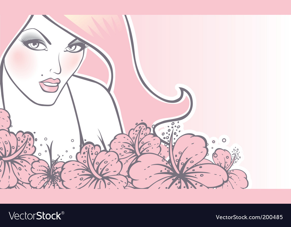 Beauty women vector | Price: 1 Credit (USD $1)