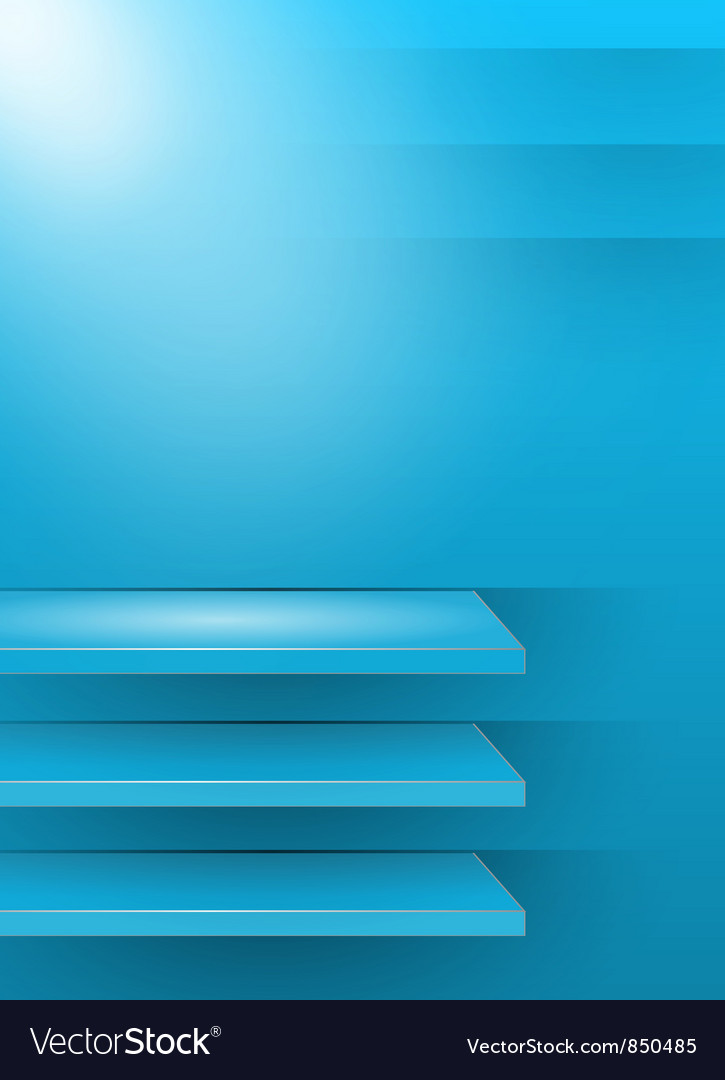 Blue 3d background vector | Price: 1 Credit (USD $1)
