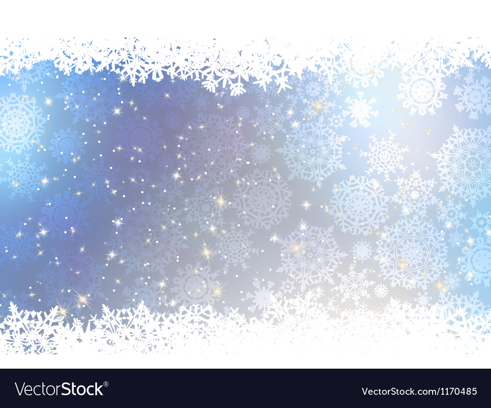 Christmas blue background with snow flakes eps 8 vector   Price: 1 Credit (USD $1)