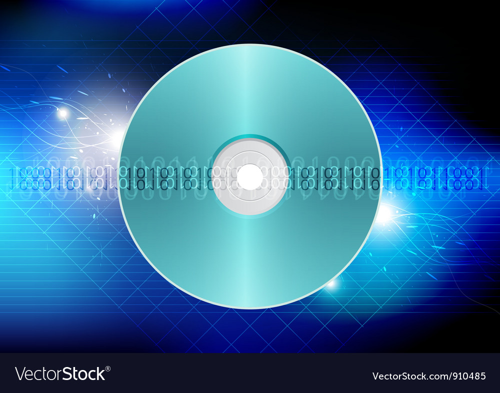Disk technology concept background vector | Price: 1 Credit (USD $1)