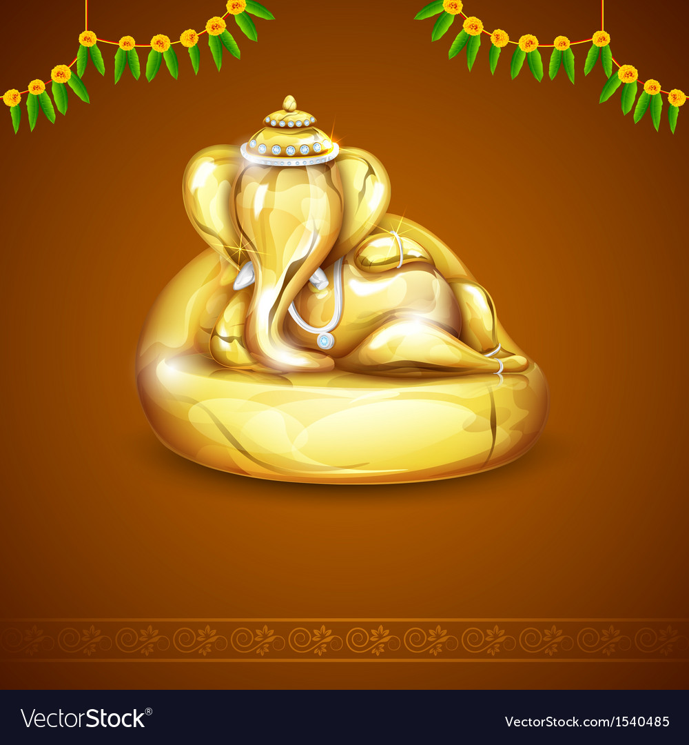 Lord ganesha vector | Price: 3 Credit (USD $3)