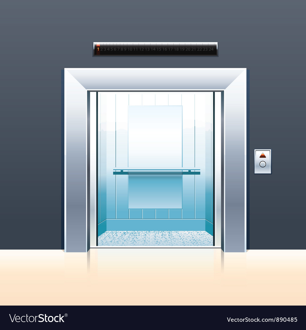 Passenger elevator vector | Price: 3 Credit (USD $3)