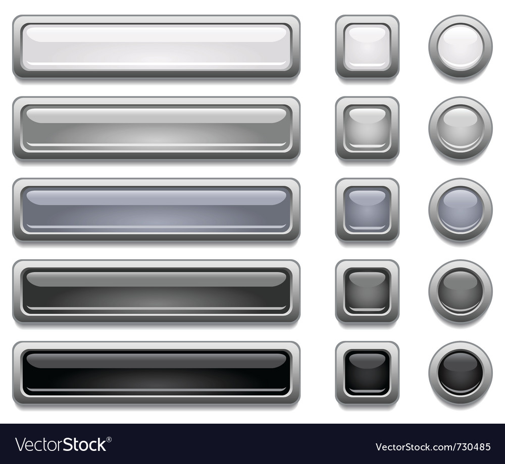 Shiny buttons vector | Price: 1 Credit (USD $1)