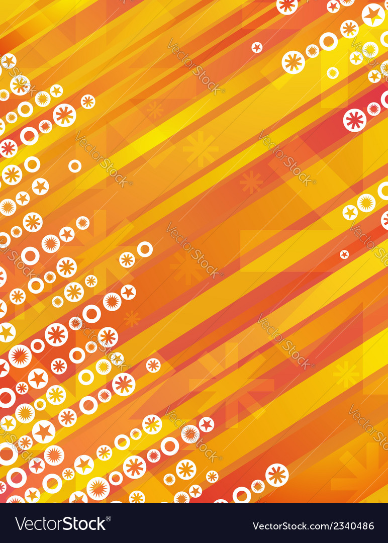Yellow grunge christmas background vector | Price: 1 Credit (USD $1)
