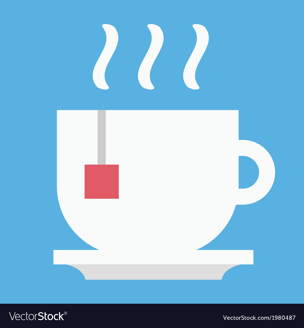 Cup of tea icon vector | Price: 1 Credit (USD $1)