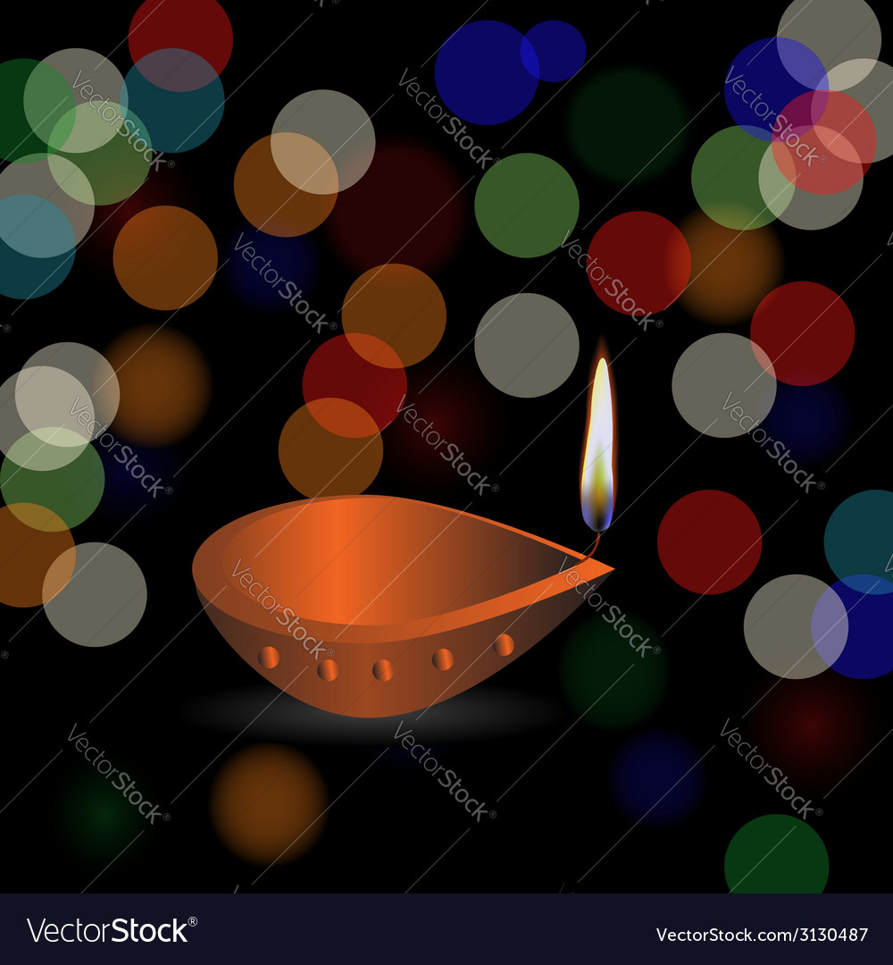 Diwali holidays vector | Price: 1 Credit (USD $1)