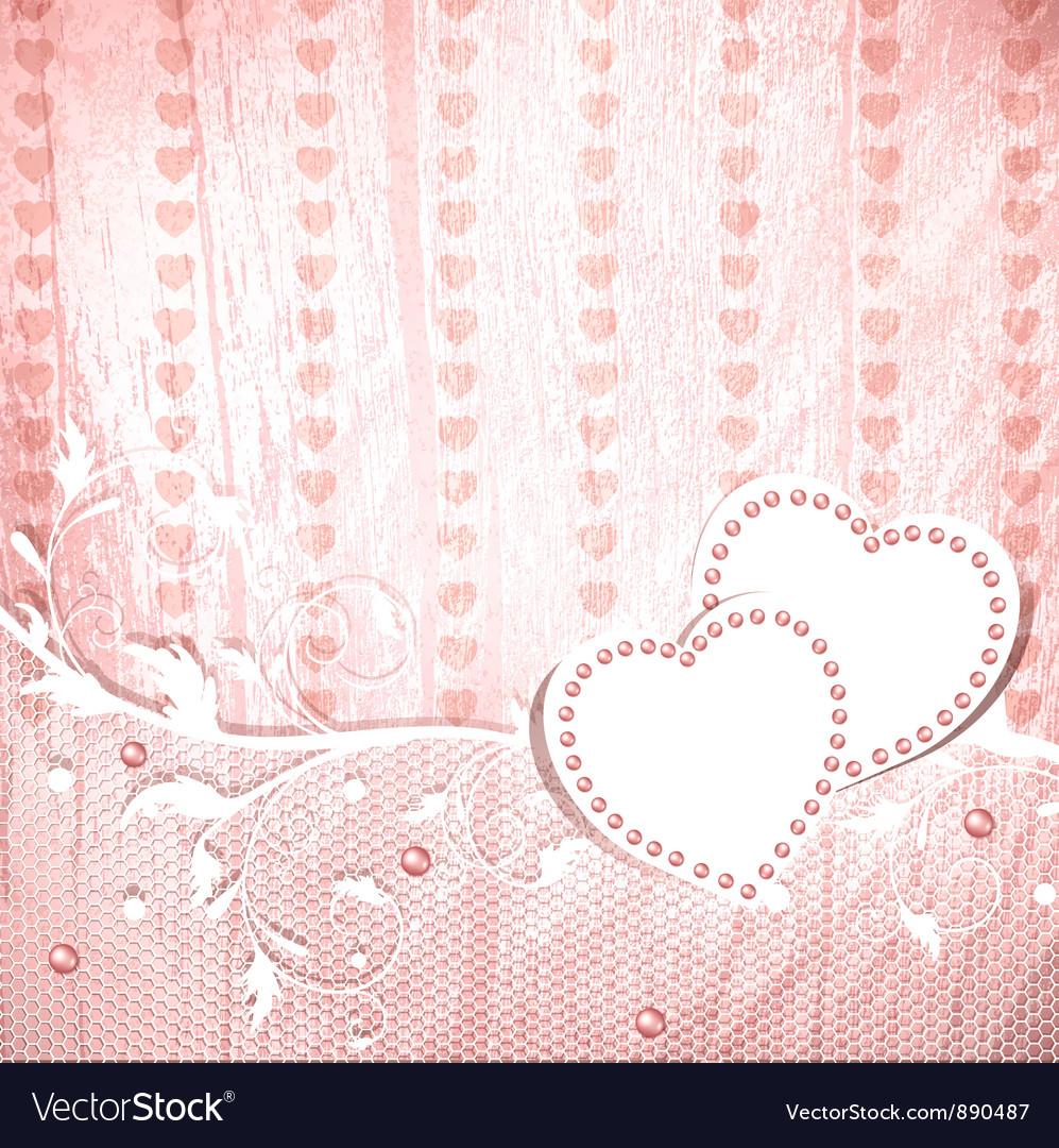 Wedding vintage wooden background vector | Price: 1 Credit (USD $1)