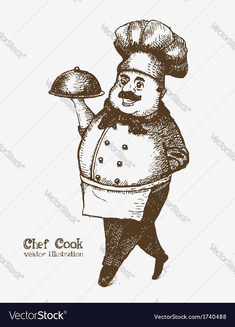 Chef cook vector | Price: 1 Credit (USD $1)