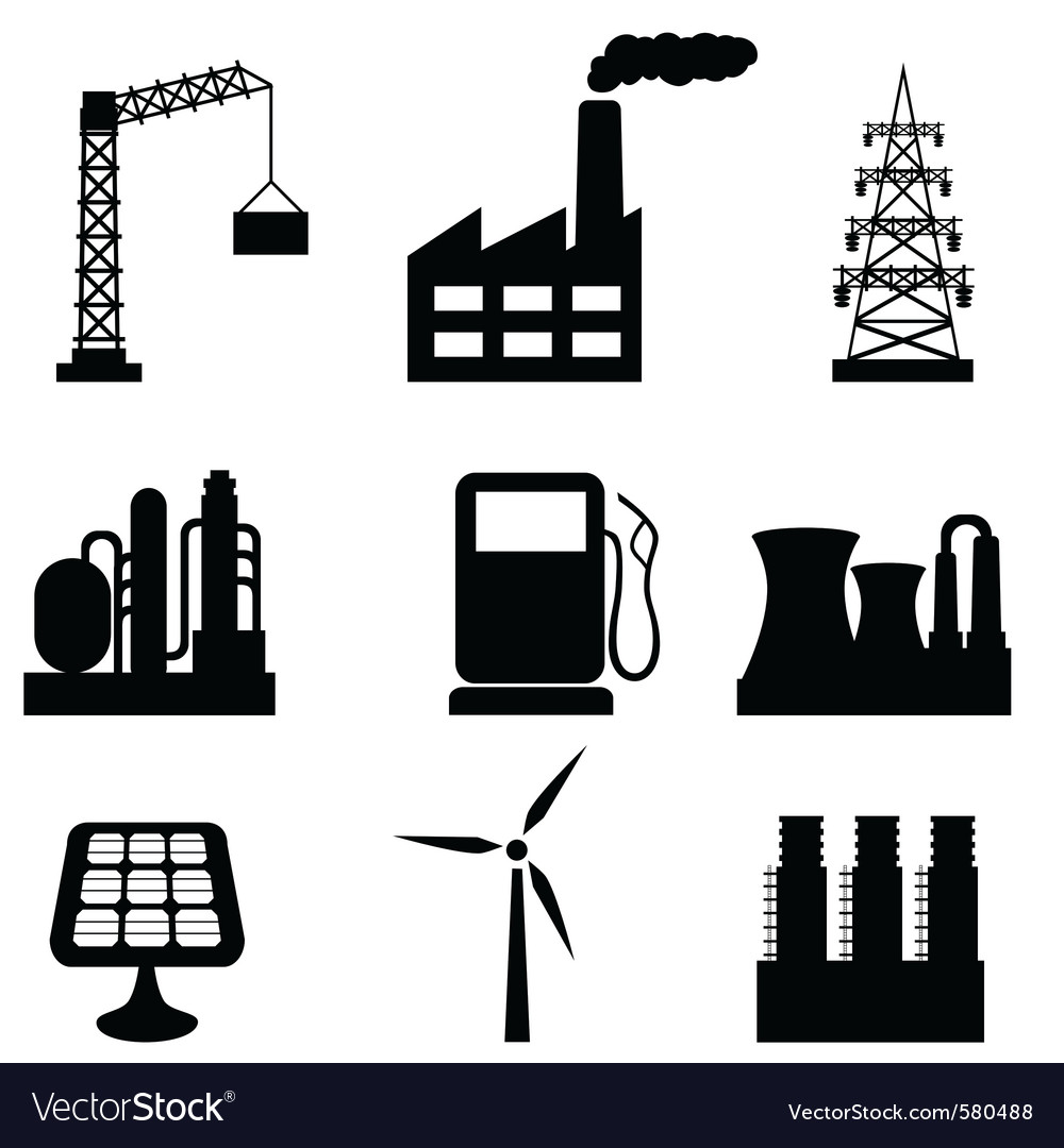 Energy icons vector | Price: 1 Credit (USD $1)