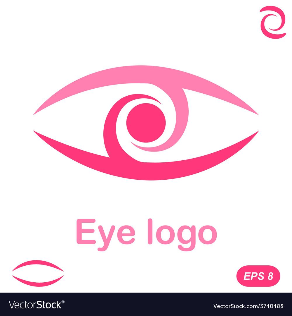 Eye logo conception vector | Price: 1 Credit (USD $1)
