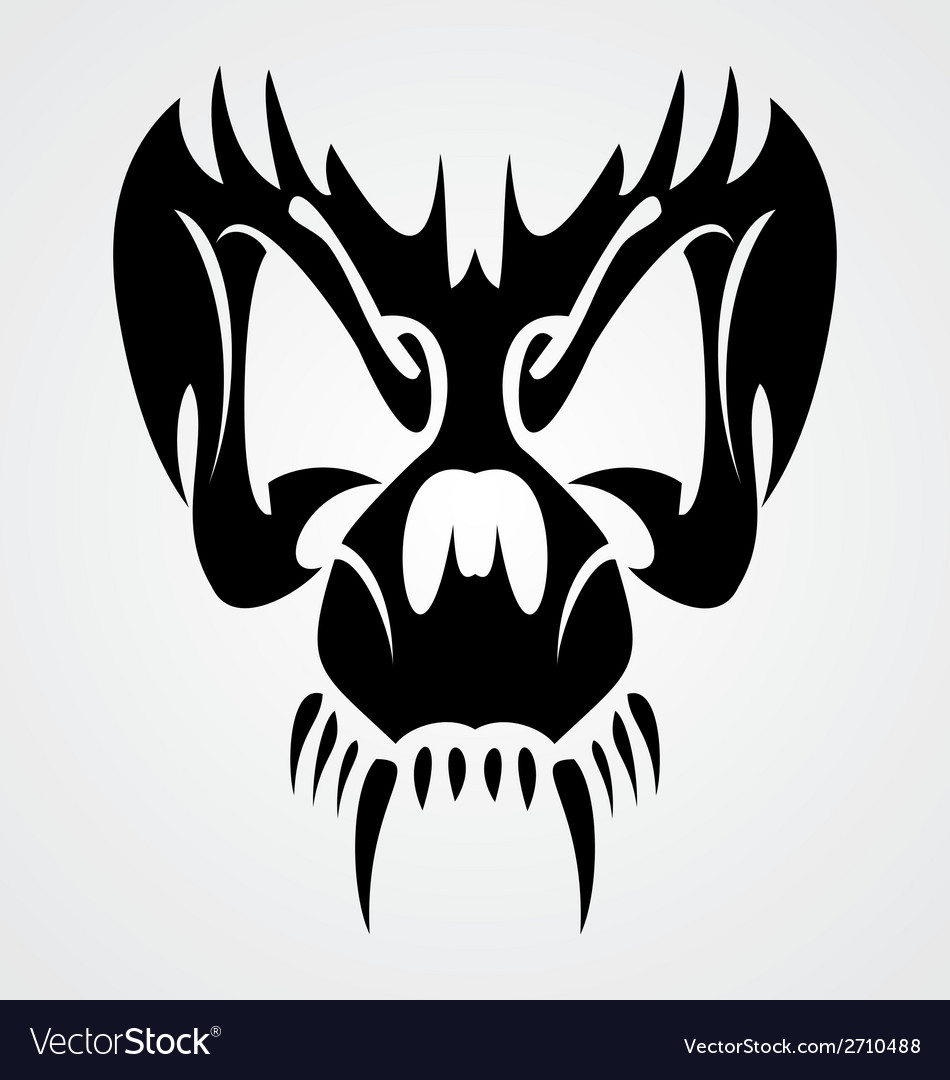 Skull mask vector | Price: 1 Credit (USD $1)