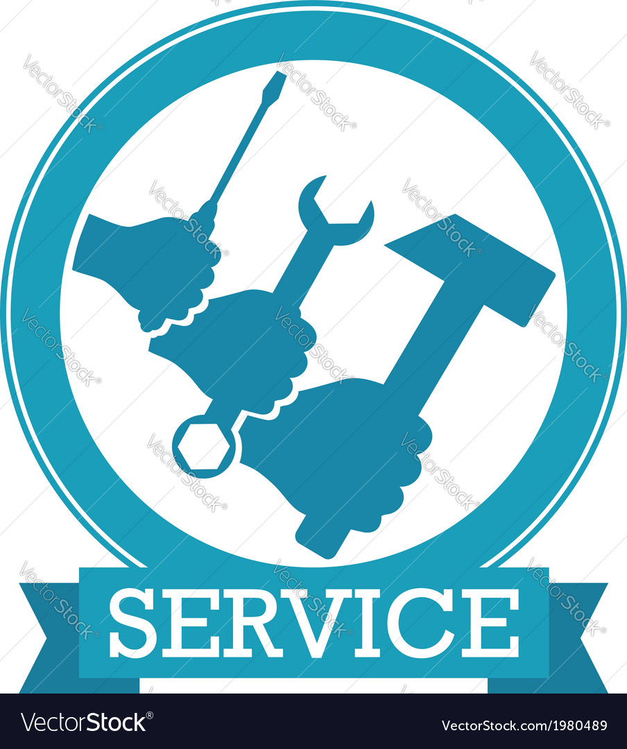 Design for service vector | Price: 1 Credit (USD $1)