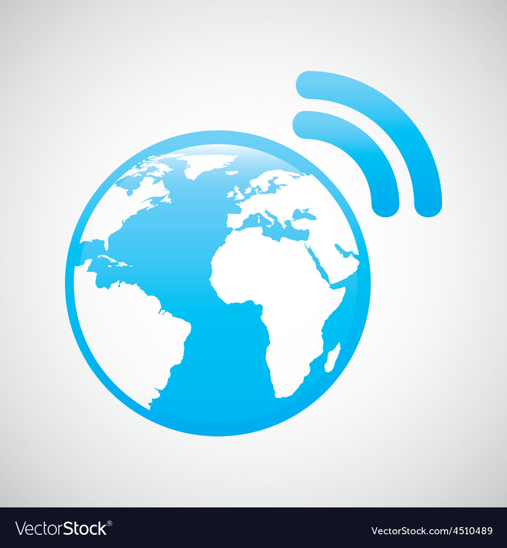 Internet connection vector | Price: 1 Credit (USD $1)