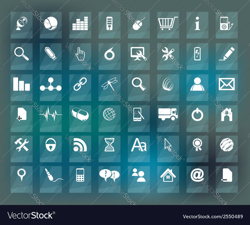 Quality icon set vector | Price: 1 Credit (USD $1)