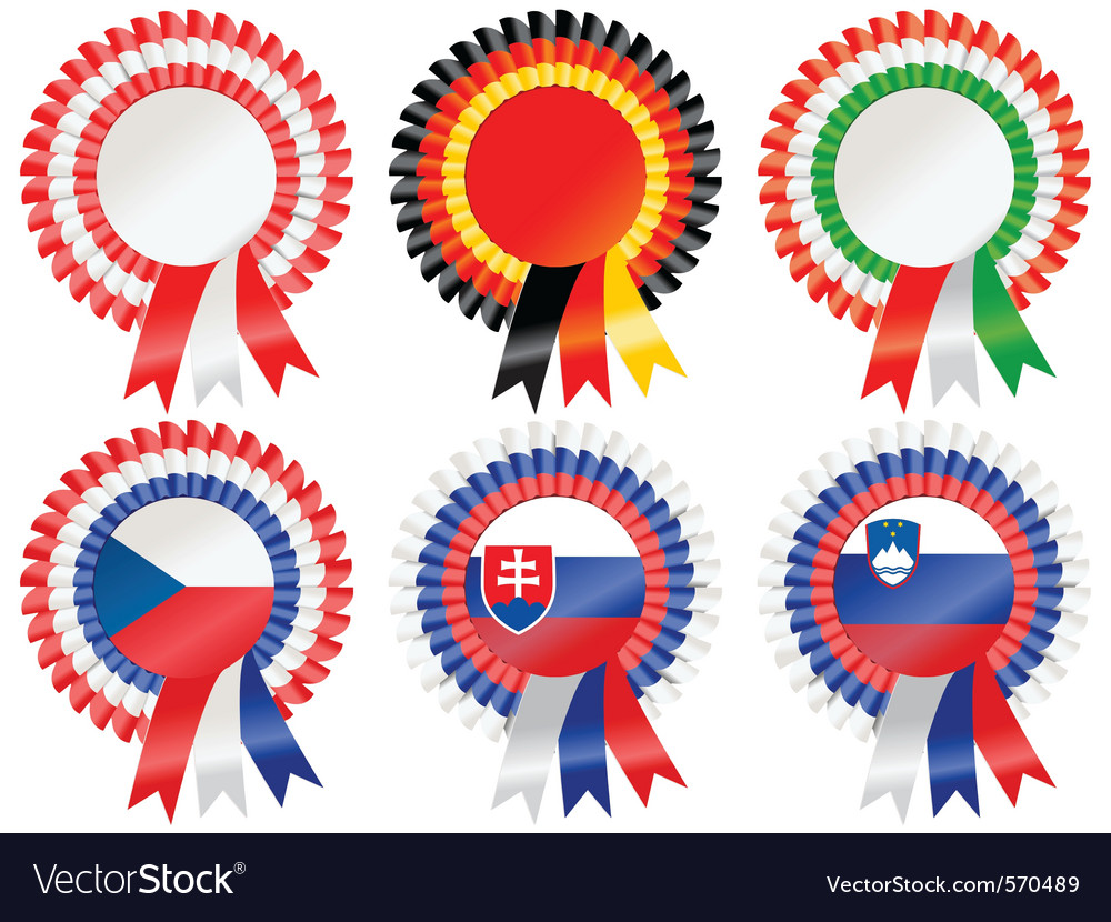 Rosettes central european vector | Price: 1 Credit (USD $1)