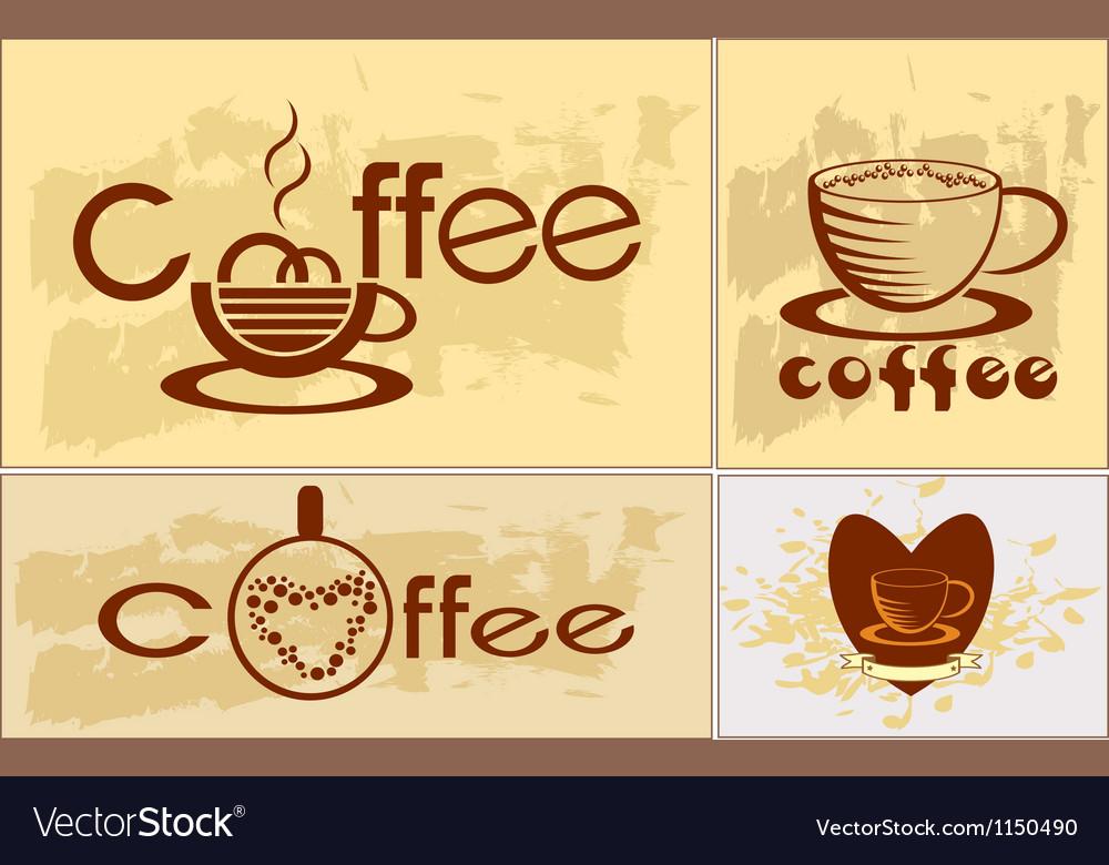 Coffee tee menu vector | Price: 1 Credit (USD $1)
