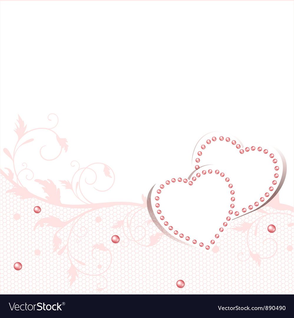 Wedding love frame vector | Price: 1 Credit (USD $1)