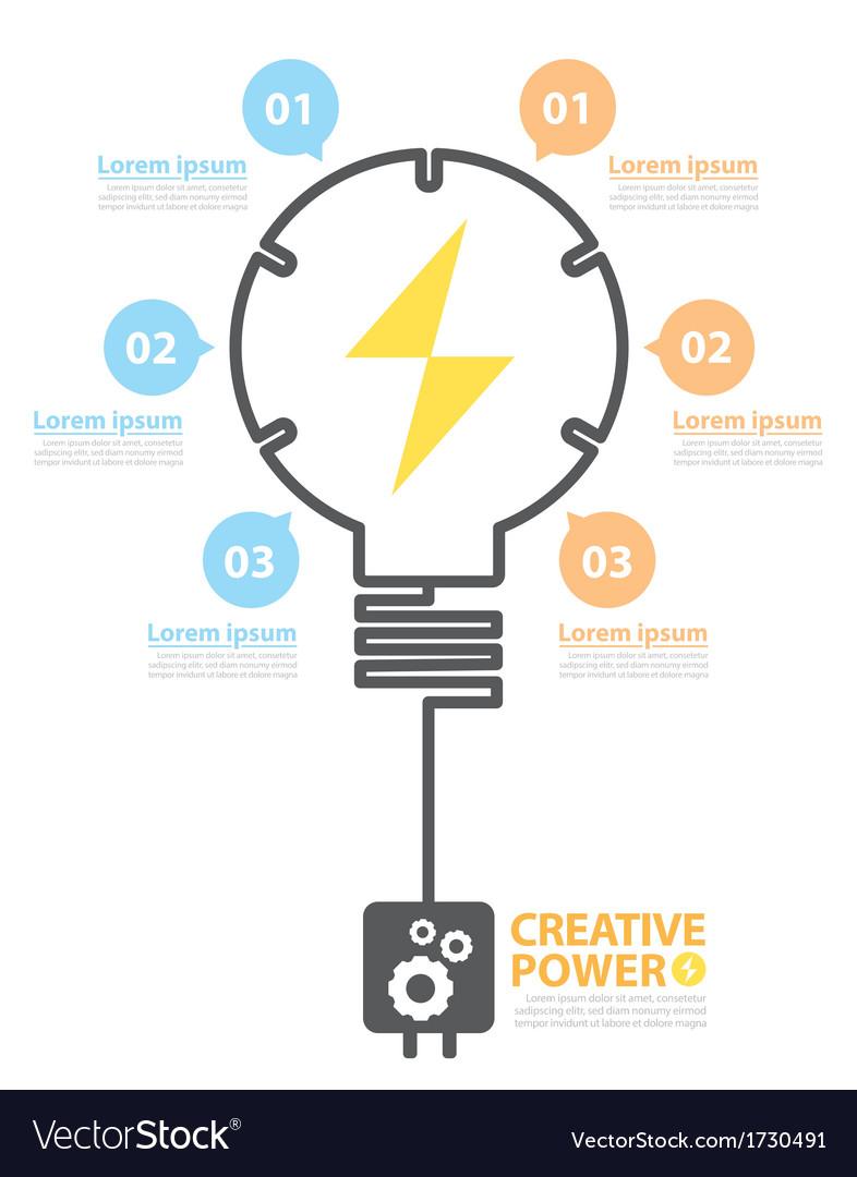 Creative power vector   Price: 1 Credit (USD $1)