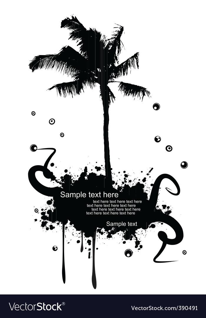 Grunge landscape vector   Price: 1 Credit (USD $1)
