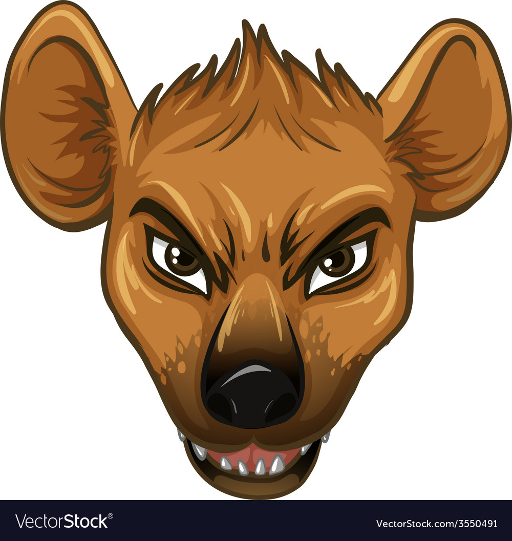 Hyena vector | Price: 1 Credit (USD $1)