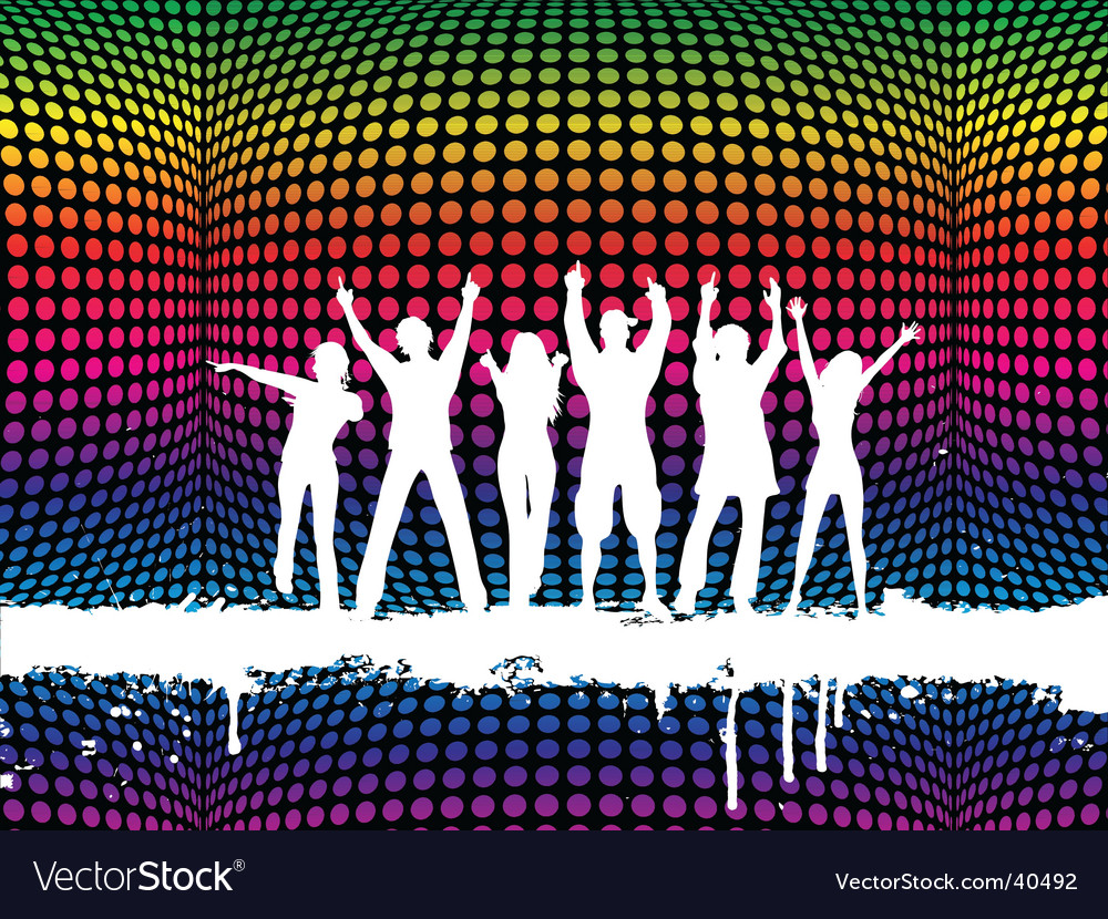 Funky party vector | Price: 1 Credit (USD $1)