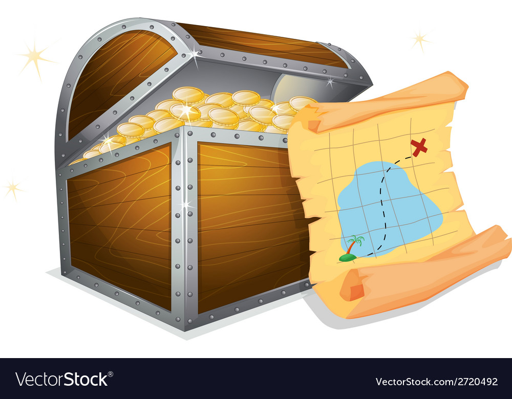 Treasure box vector | Price: 1 Credit (USD $1)