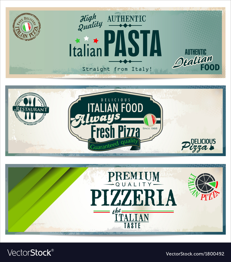 Vintage pizza background vector | Price: 1 Credit (USD $1)