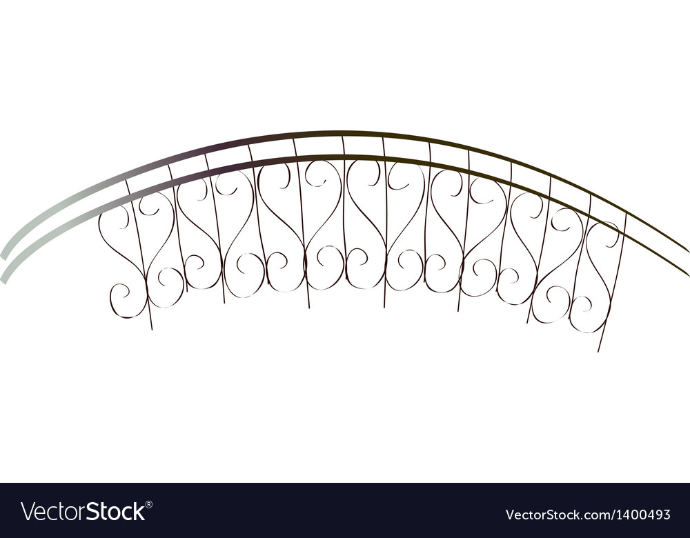 A balcony vector | Price: 1 Credit (USD $1)