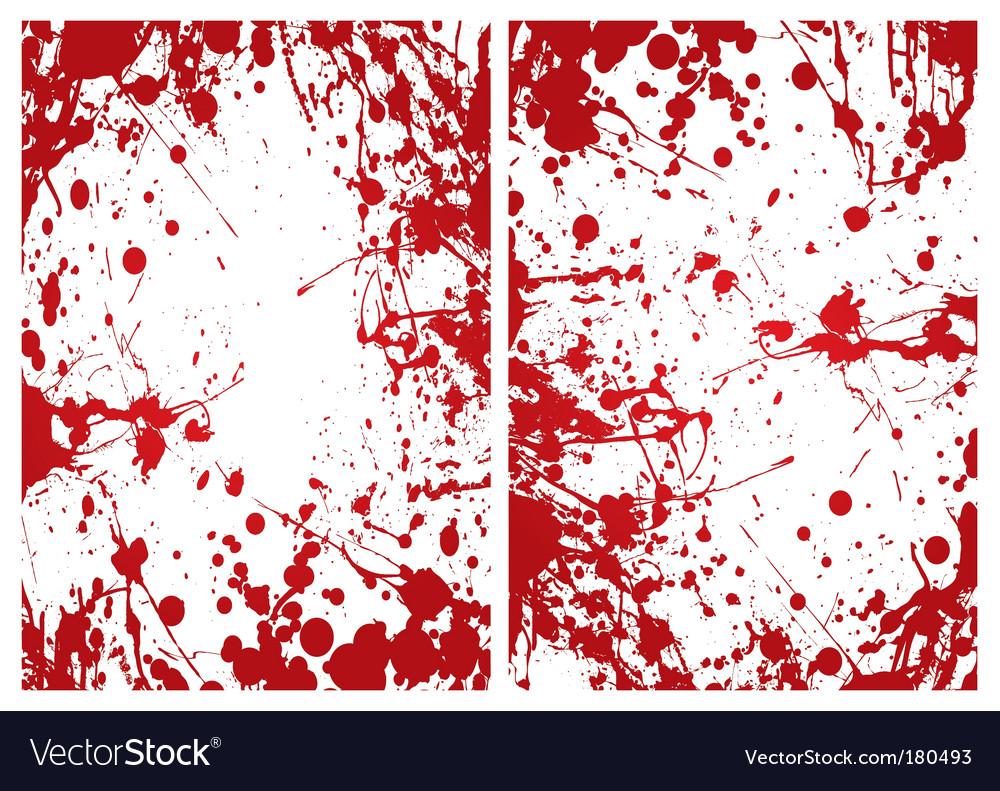 Blood splat frame vector | Price: 1 Credit (USD $1)