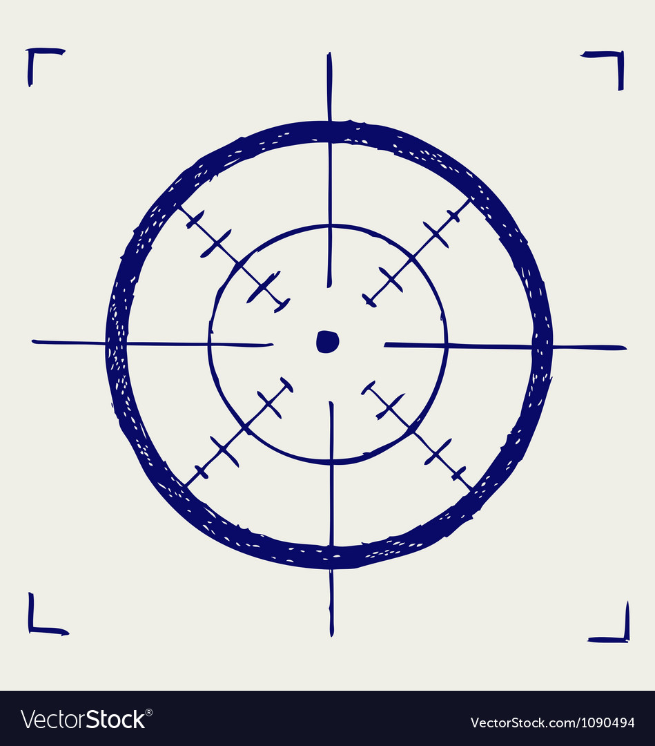 Crosshair vector | Price: 1 Credit (USD $1)