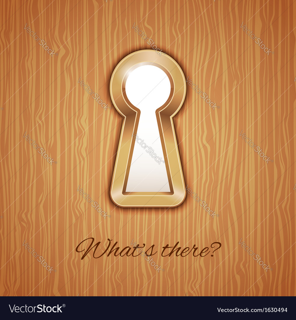Key hole vector | Price: 1 Credit (USD $1)