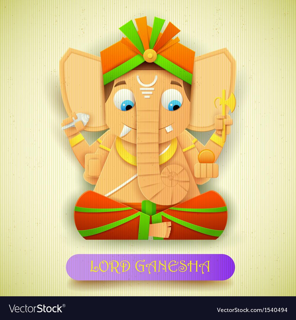 Lord ganesha vector | Price: 3 Credit (USD $3)