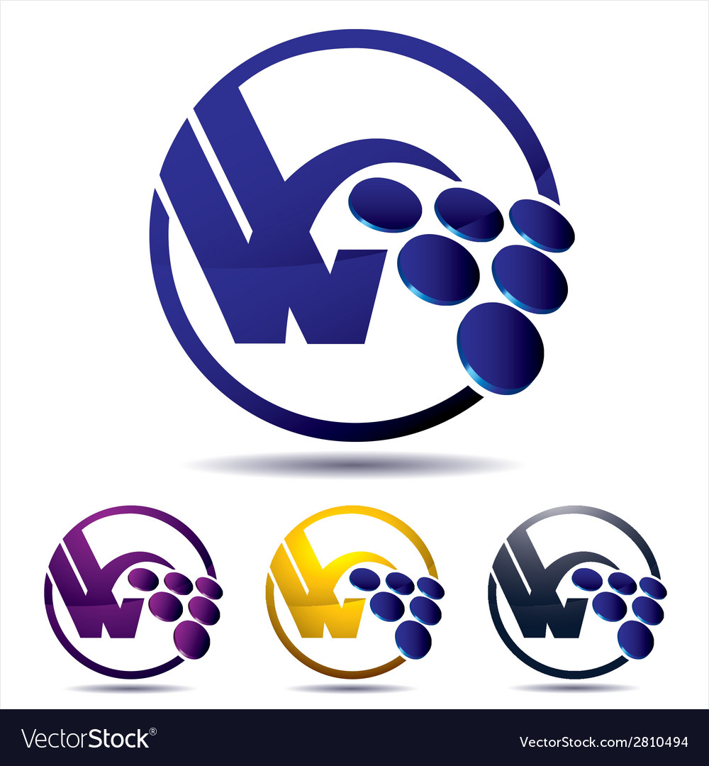 Vine grape icon vector | Price: 1 Credit (USD $1)