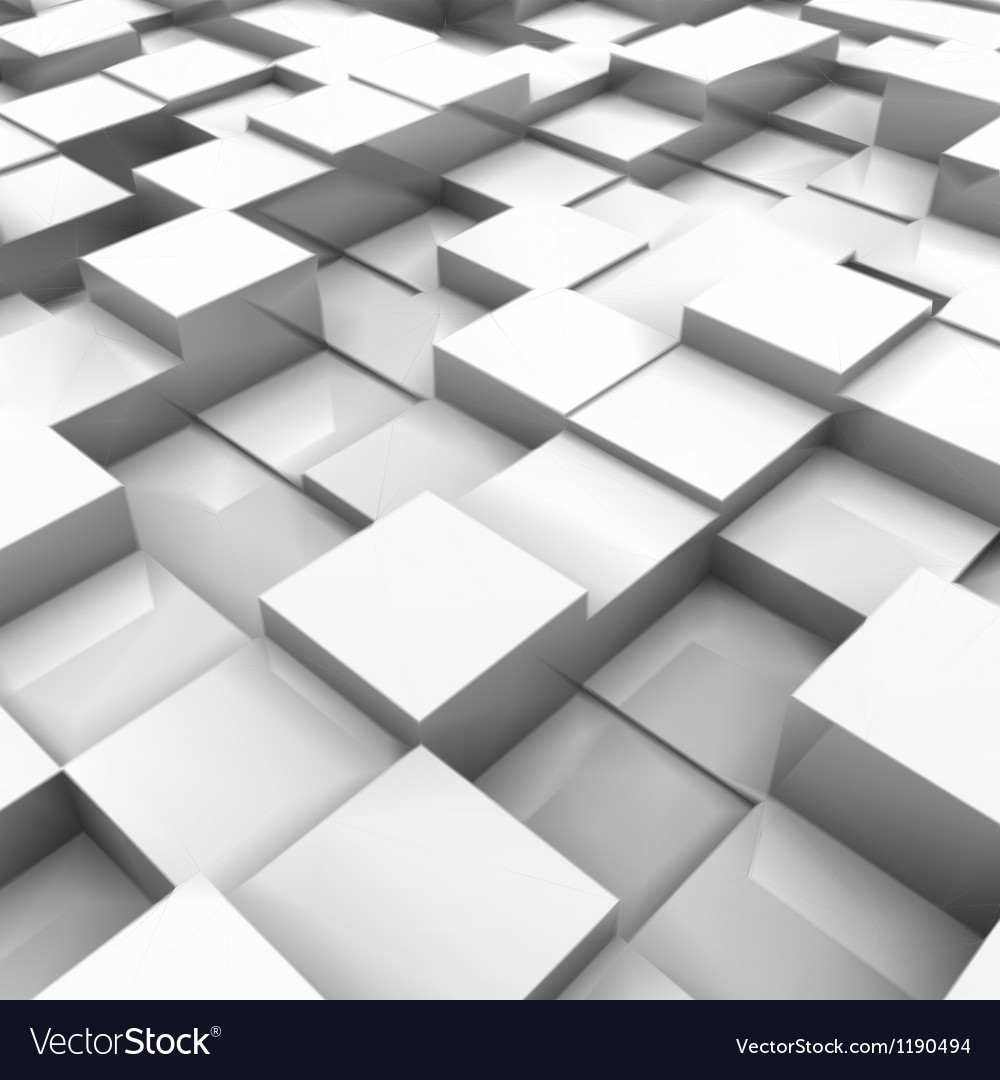 White brick wall with random height bricks vector | Price: 1 Credit (USD $1)