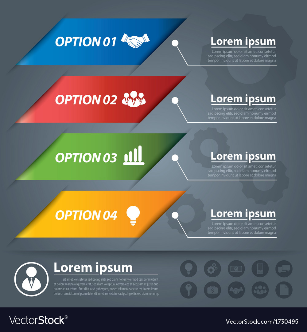 Business banner infographics vector | Price: 1 Credit (USD $1)