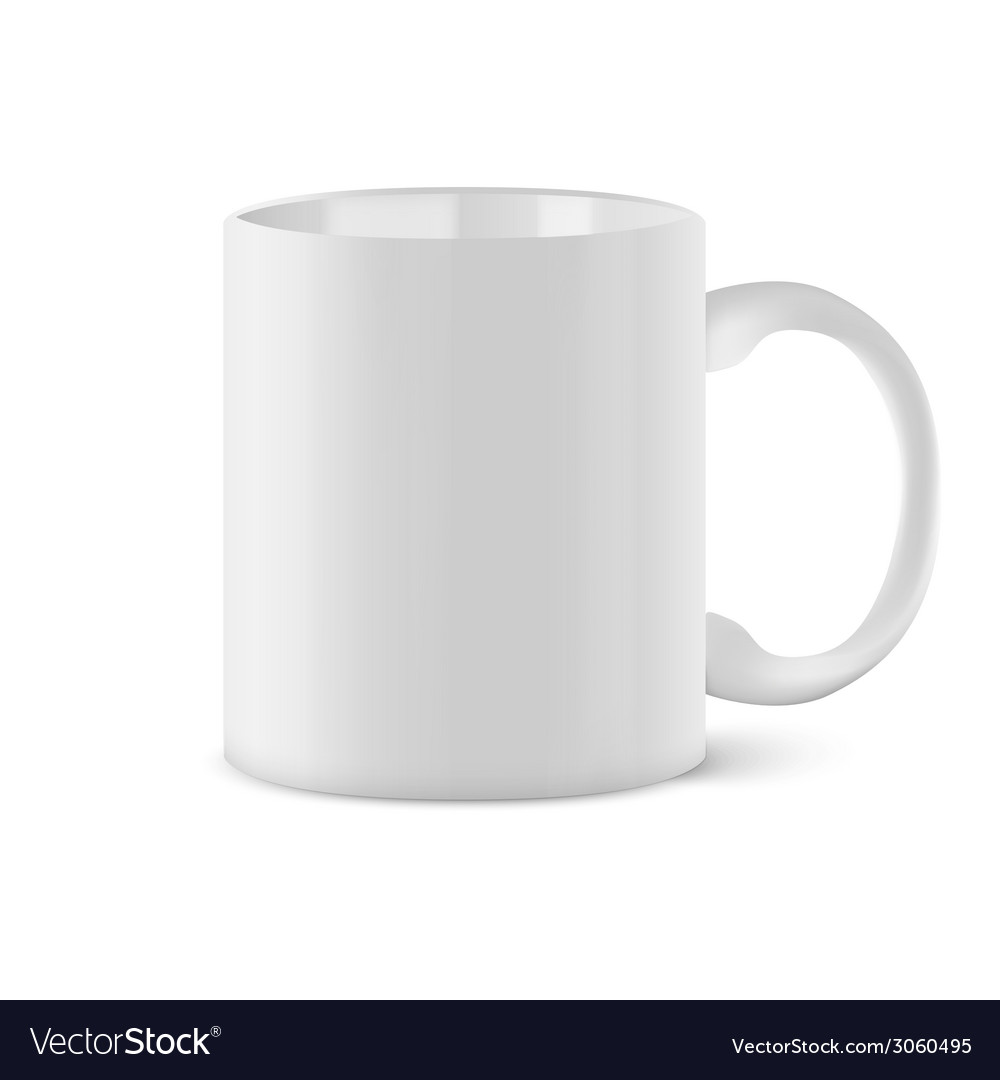 Coffee cup isolated on white background vector | Price: 1 Credit (USD $1)