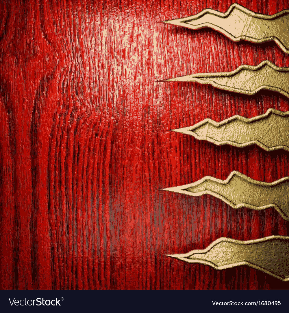 Golden and wood background vector | Price: 1 Credit (USD $1)