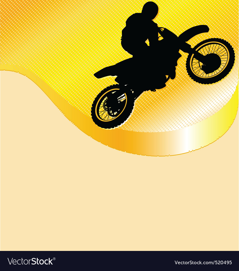 Motorcycle racing background vector | Price: 1 Credit (USD $1)