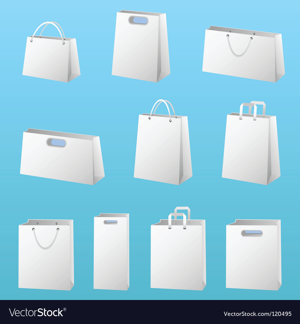 Shopping package vector | Price: 1 Credit (USD $1)