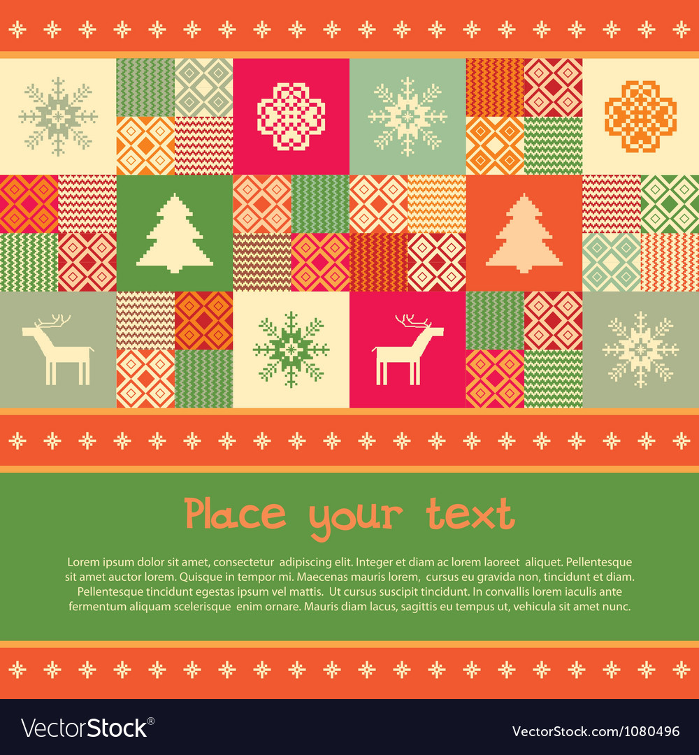 Christmas banner template vector | Price: 1 Credit (USD $1)