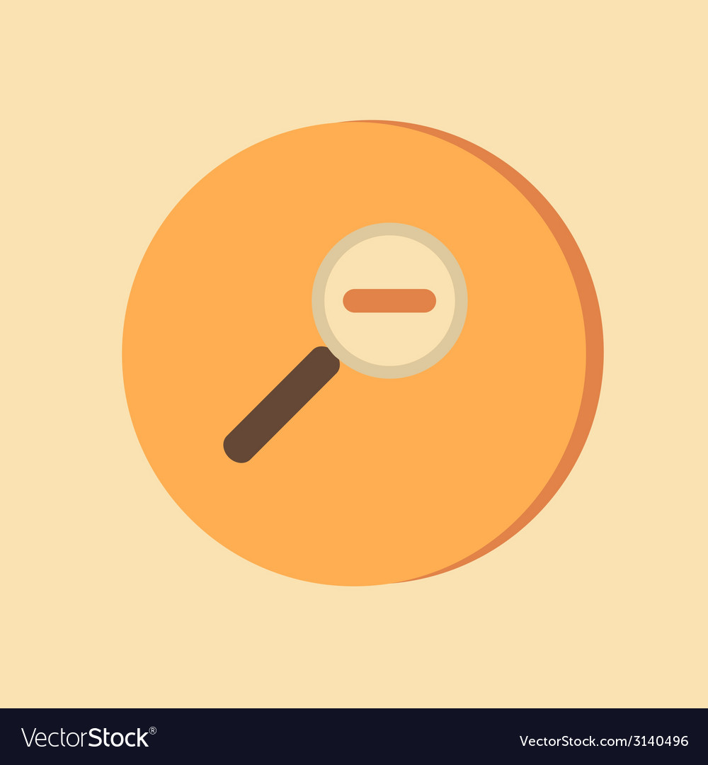 Magnifier reduction vector | Price: 1 Credit (USD $1)