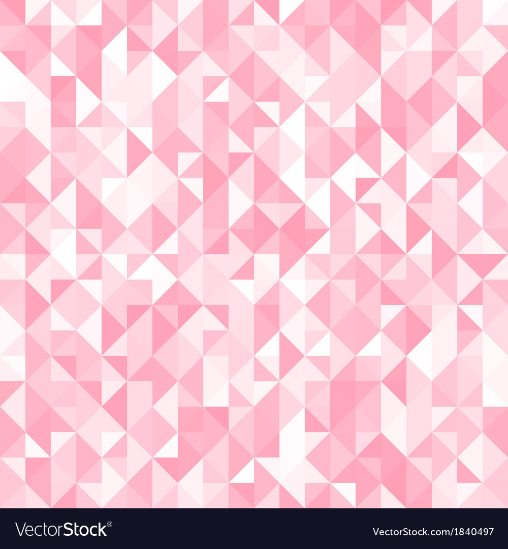 Abstract crystal pink triangle background vector   Price: 1 Credit (USD $1)