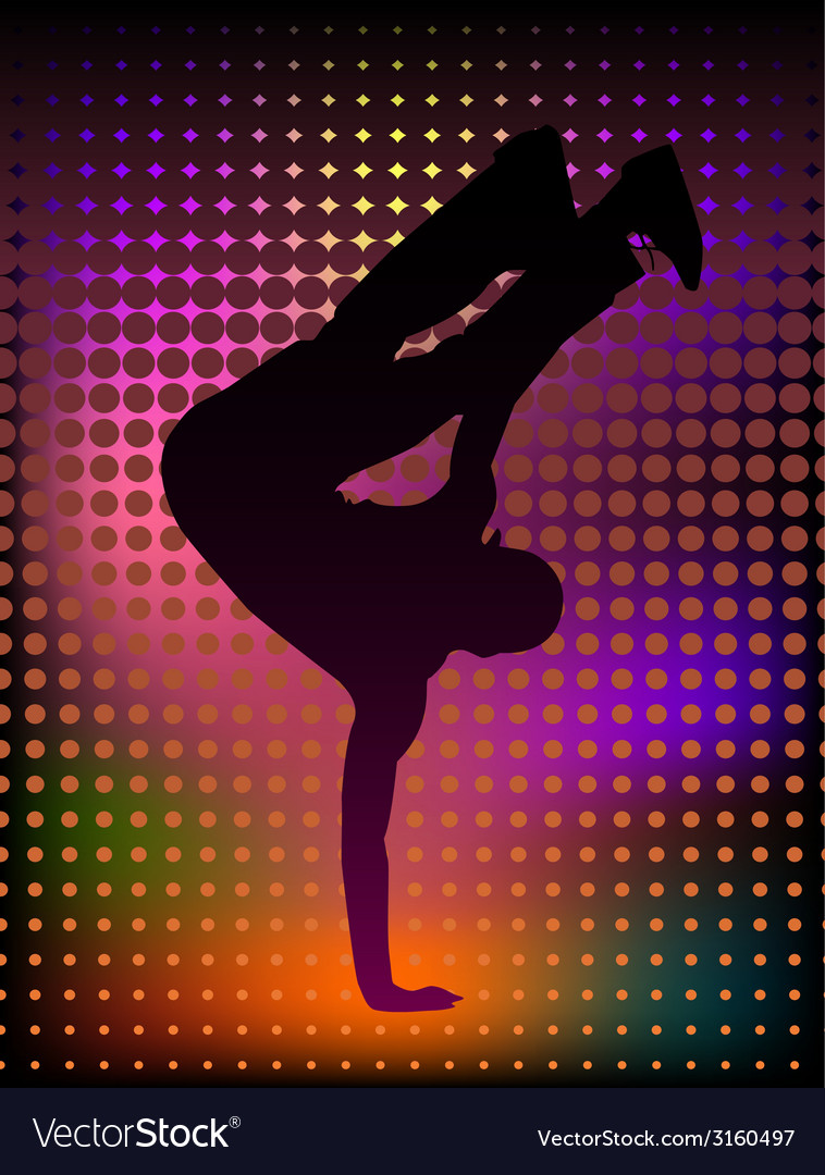 Breakdancer vector | Price: 1 Credit (USD $1)