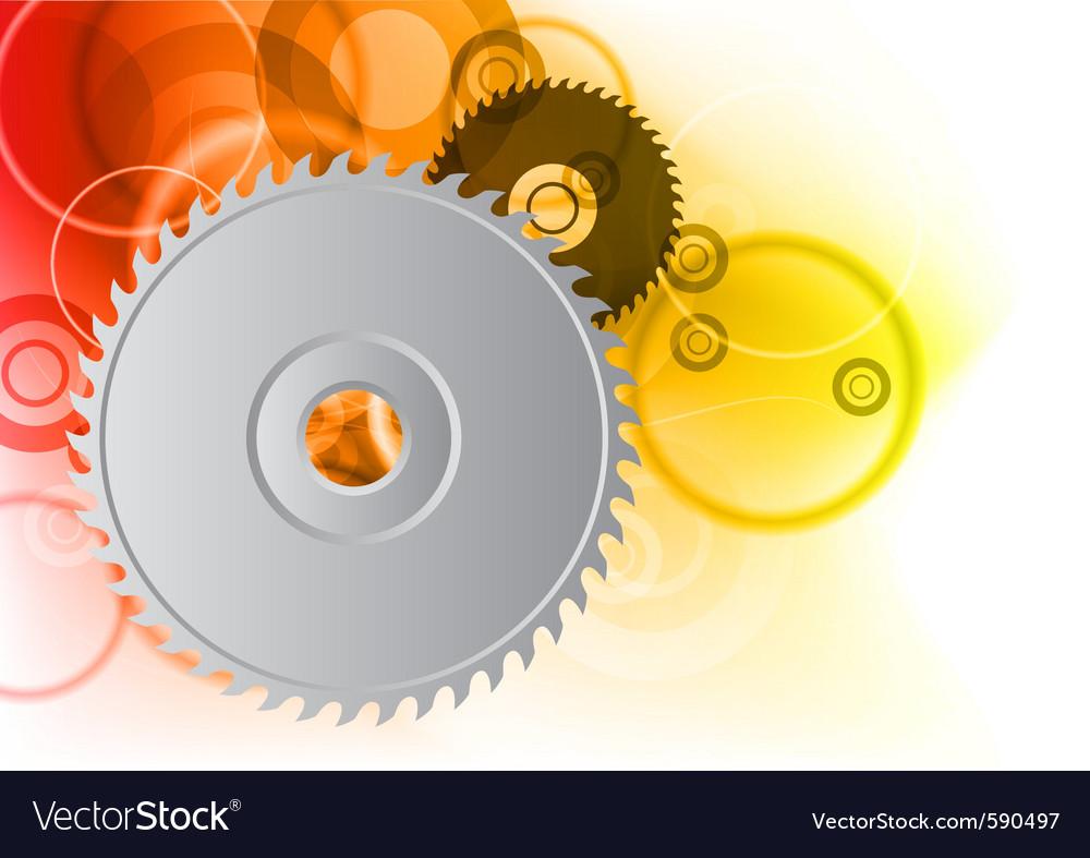 Circular saw background vector | Price: 1 Credit (USD $1)