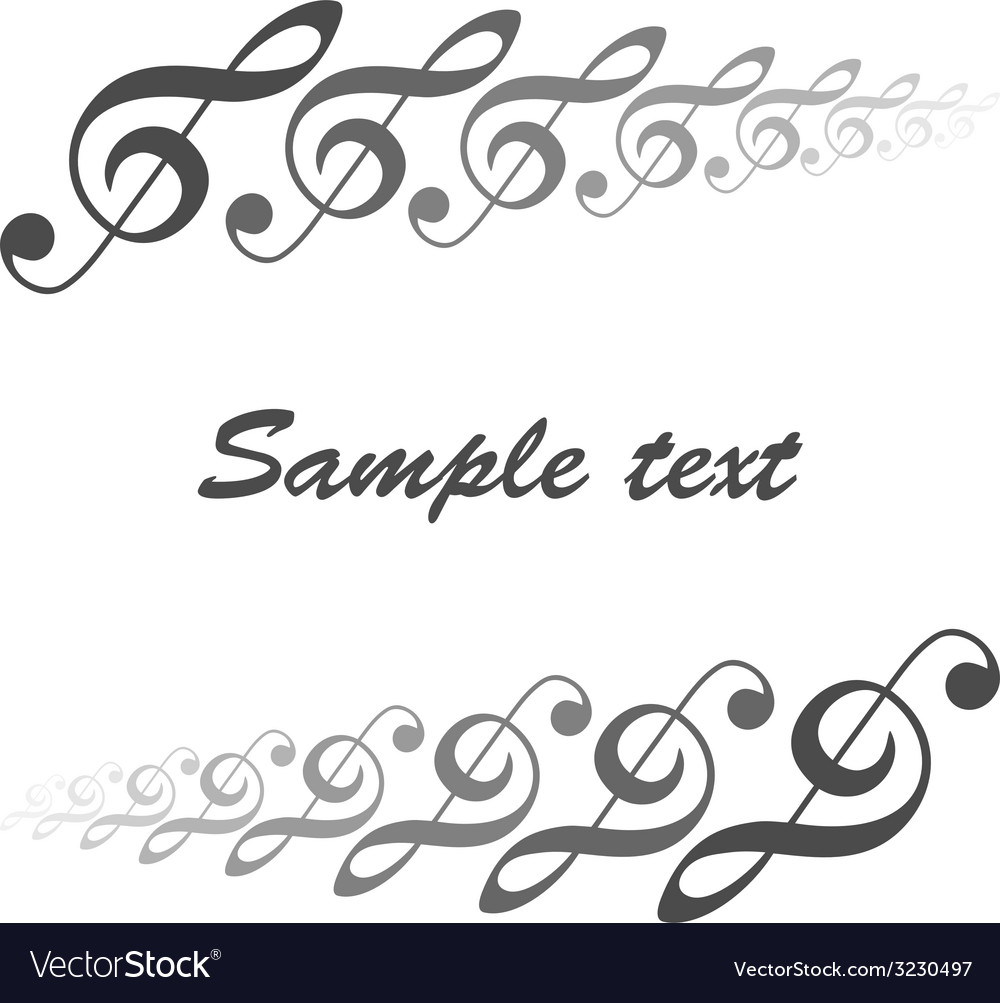 Musical theme vector | Price: 1 Credit (USD $1)