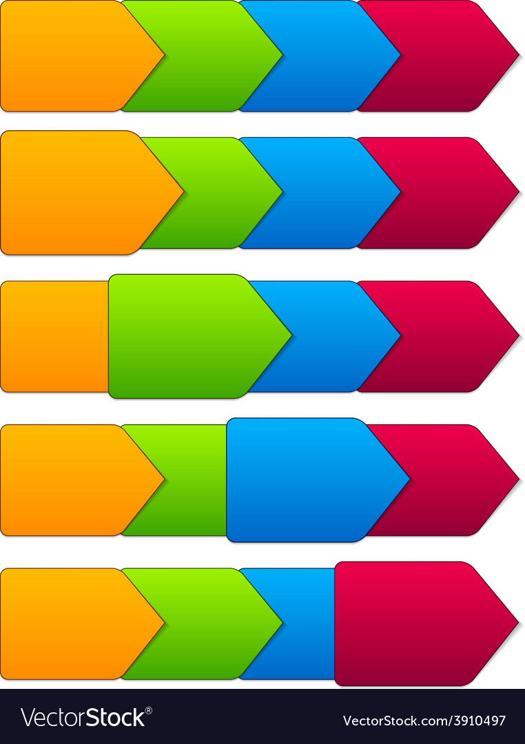Step templates vector | Price: 1 Credit (USD $1)