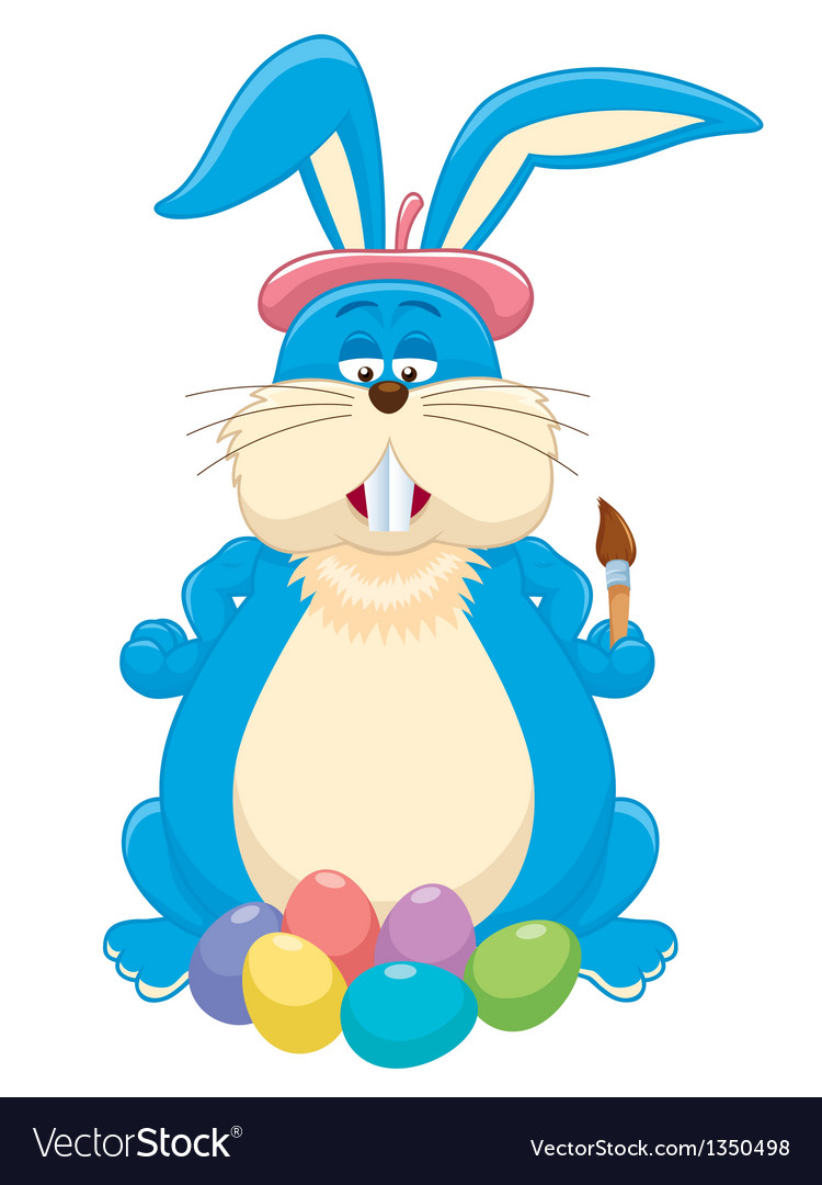 Bunny easter vector | Price: 3 Credit (USD $3)