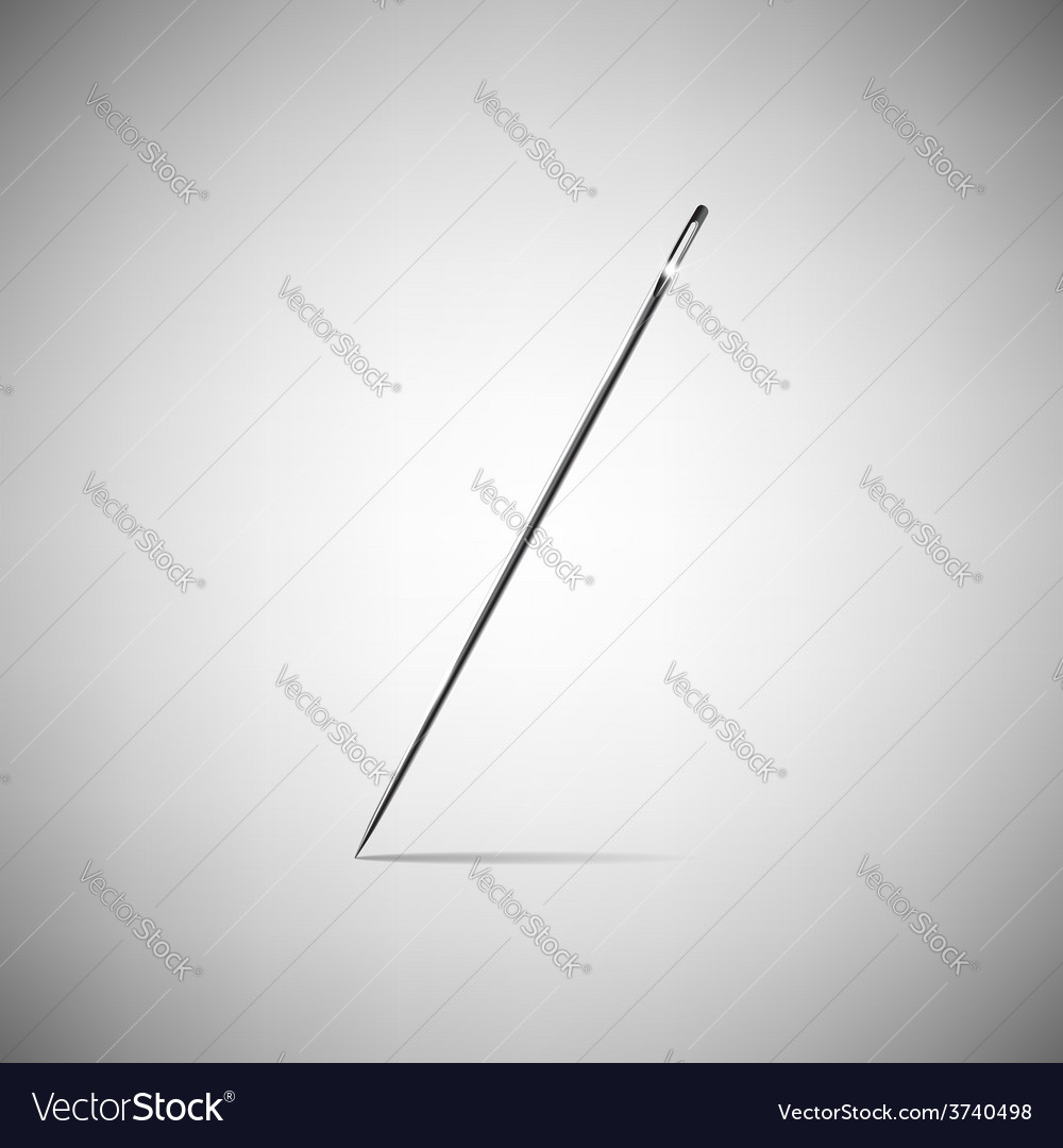 Needle for sewing vector   Price: 1 Credit (USD $1)