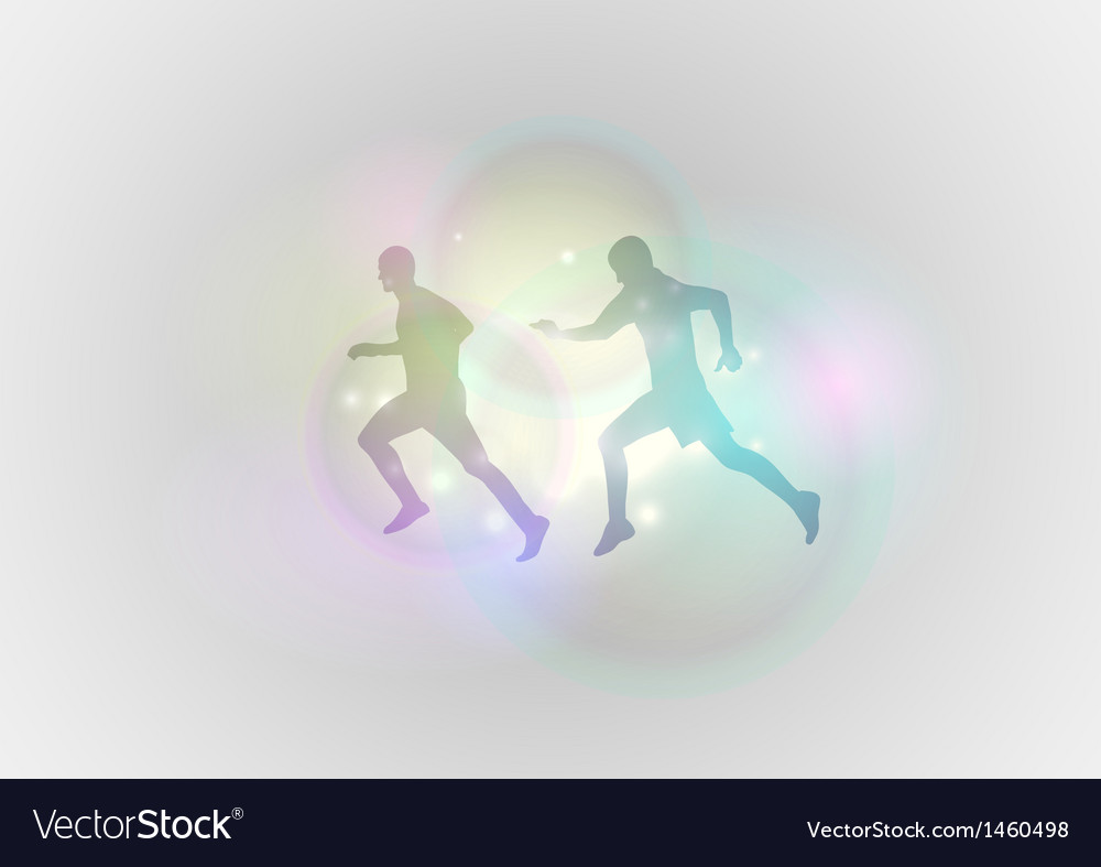 Sport abstract run vector | Price: 1 Credit (USD $1)